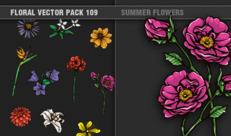 Full library Pricing products designious floral vector pack 109 small