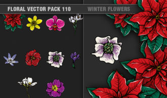 Full library Pricing products designious floral vector pack 110 small