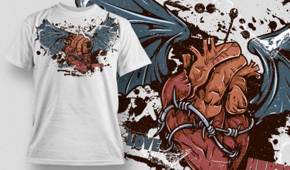 T-shirt Design 465 T-shirt designs and templates vector