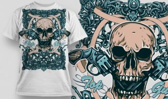 T-shirt Design 468 T-shirt Designs and Templates urban