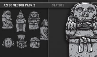 Aztec Vector Pack 2 Religion [tag]