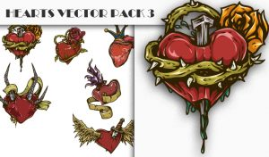 Hearts Vector Pack 3 People [tag]