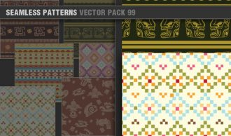 Seamless Patterns Vector Pack 99 Vector Patterns [tag]