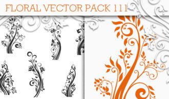 Floral Vector Pack 111 Floral floral