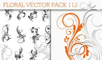 Floral Vector Pack 112 Floral floral