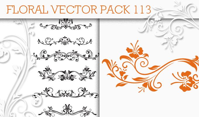 Floral Vector Pack 113 Floral floral