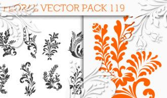 Floral Vector Pack 119 Floral floral
