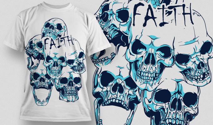 T-shirt Design 476 T-shirt designs and templates vector