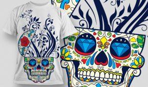 T-shirt Design 477 T-shirt designs and templates vector