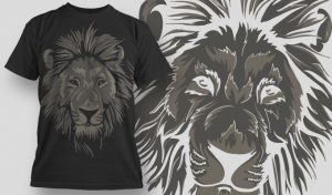 T-shirt Design 479 T-shirt designs and templates animal