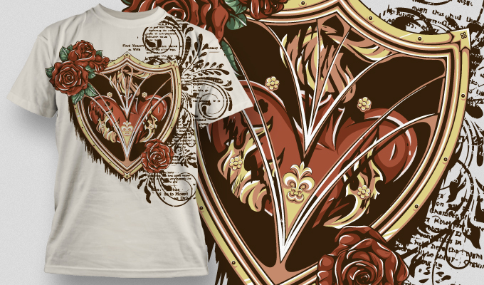 T-shirt Design 480 T-shirt designs and templates vector
