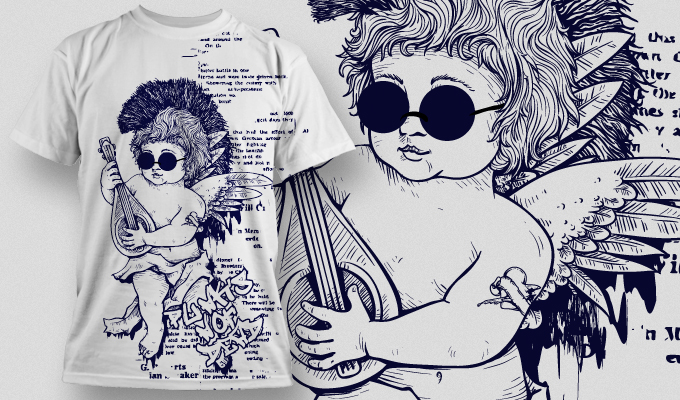 T-shirt Design 481 T-shirt designs and templates vector