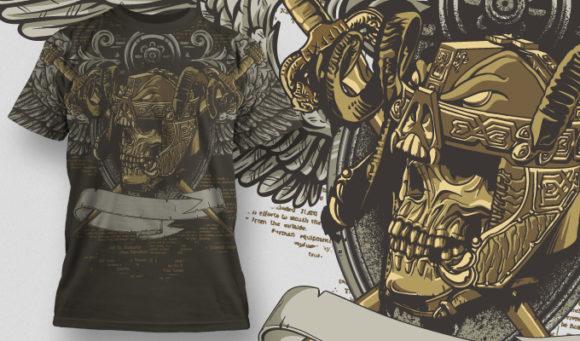 T-shirt Design 485 T-shirt designs and templates vector
