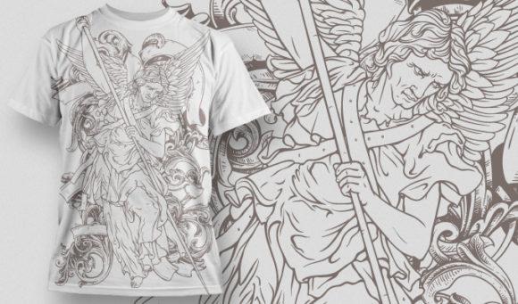 T-shirt Design 487 T-shirt Designs and Templates vector