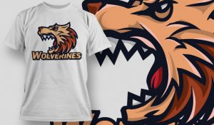 T-shirt Design 504 T-shirt designs and templates vector