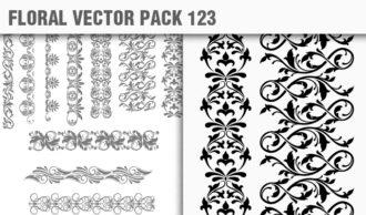 Floral Vector Pack 123 Floral floral