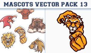 Mascots Vector Pack 13 Sport, Mascots & Cartoons [tag]