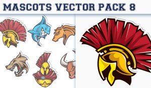 Mascots Vector Pack 8 Sport, Mascots & Cartoons [tag]