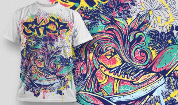 T-shirt Design 510 T-shirt Designs and Templates urban