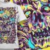 T-shirt Design 515 T-shirt Designs and Templates vector