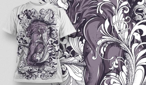 T-shirt Design 518 T-shirt Designs and Templates floral