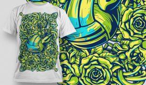 T-shirt Design 519 T-shirt designs and templates urban