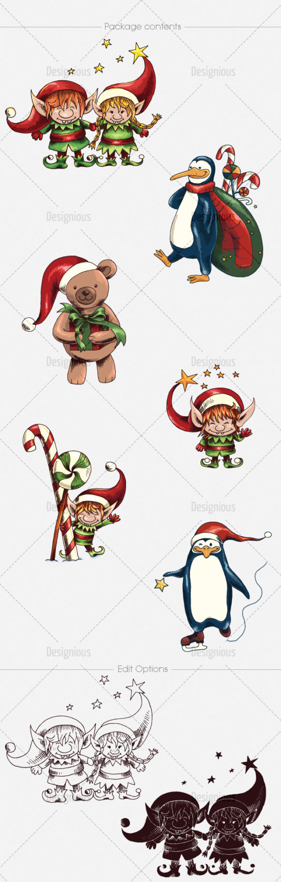 Christmas Vector Pack 15 6
