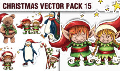 Christmas Vector Pack 15 Holidays [tag]