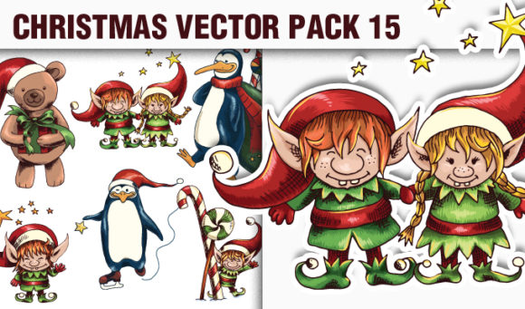 Christmas Vector Pack 15 5