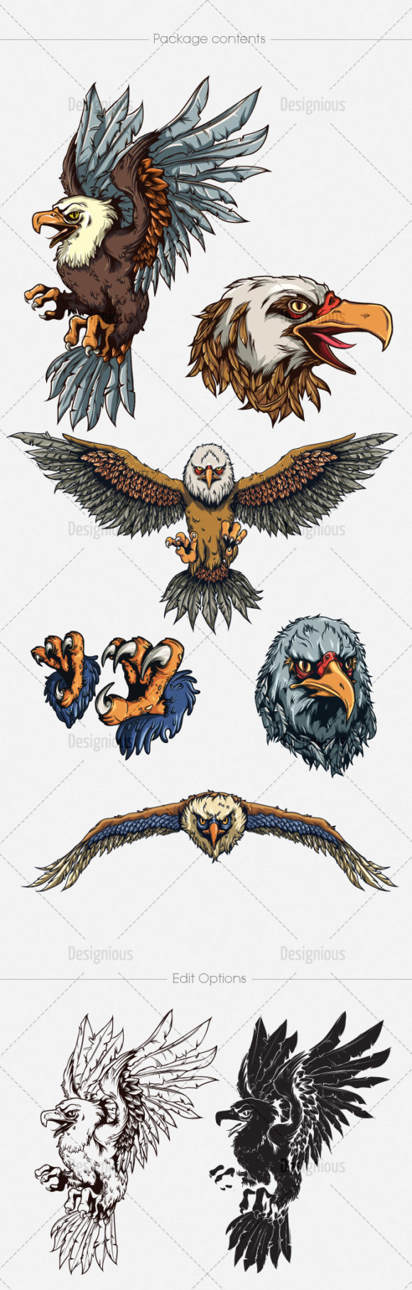 Eagles Vector Pack 1 6