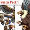 Birds Vector Pack 10 products designious vector eagles 1 small