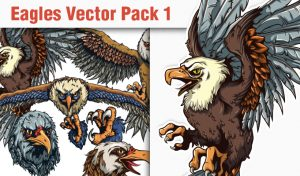 Eagles Vector Pack 1 Nature [tag]