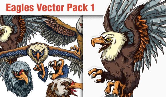 Eagles Vector Pack 1 5