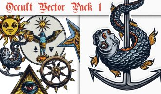 Occult Vector Pack 1 Religion [tag]