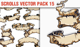 Scrolls Vector Pack 15 Scrolls [tag]