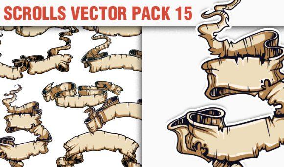 Scrolls Vector Pack 15 5