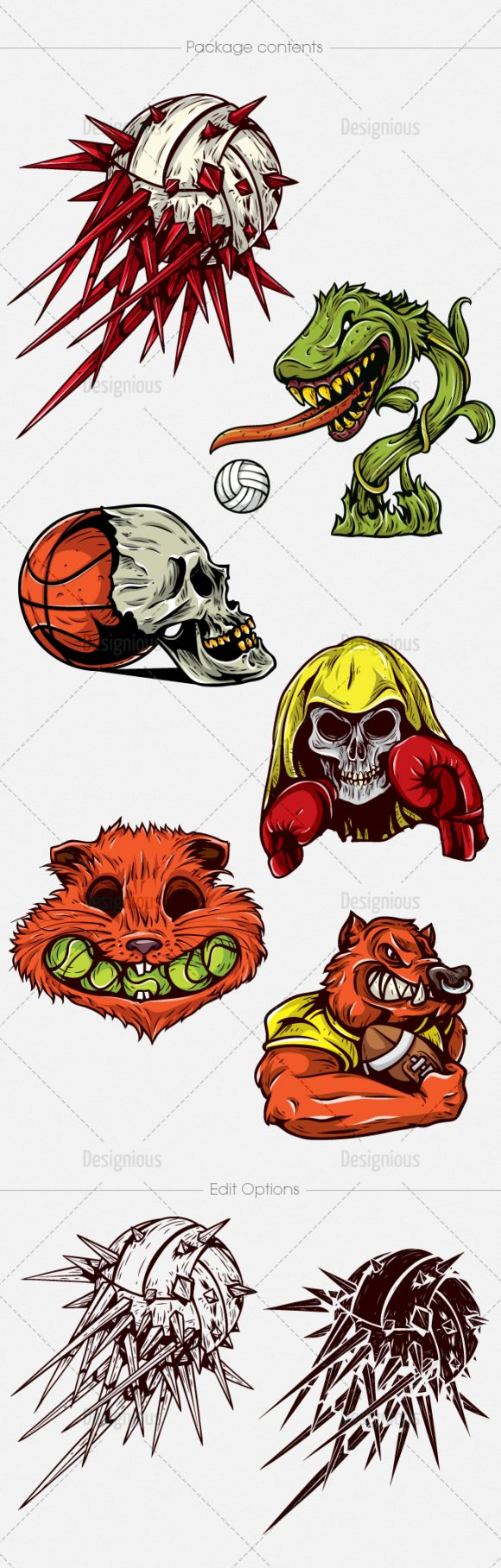 Sport Concepts Vector Pack 10 6