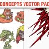 Sport Concepts Vector Pack 9 products designious vector sport concepts 10 small