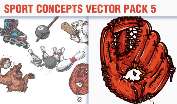 Sport Concepts Vector Pack 5 5