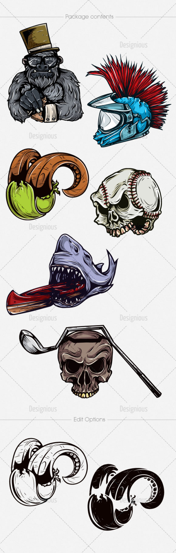 Sport Concepts Vector Pack 6 6