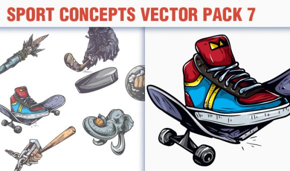 Sport Concepts Vector Pack 7 5