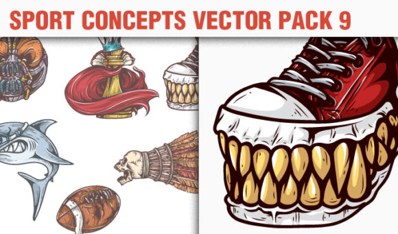 Sport Concepts Vector Pack 9 products designious vector sport concepts 9 small