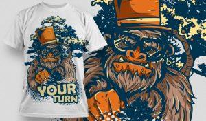 T-shirt Design 523 T-shirt designs and templates vector