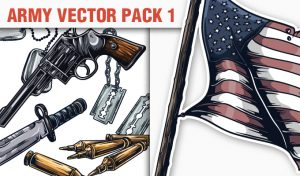 Army Vector Pack 1 War [tag]