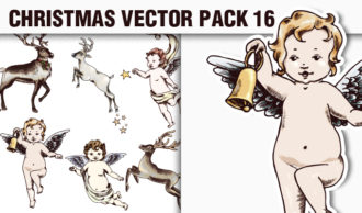 Christmas Vector Pack 16 Holidays [tag]