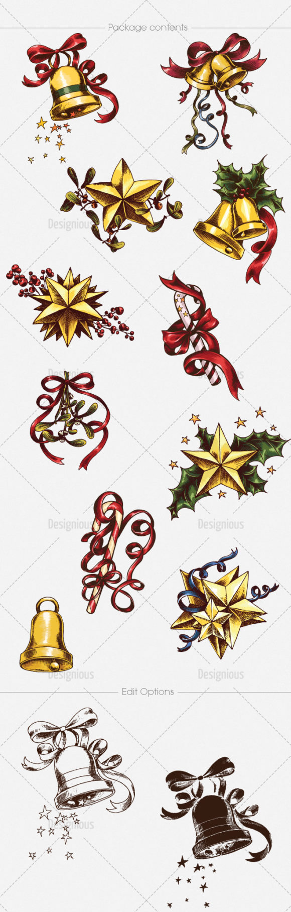 Christmas Vector Pack 17 products designious vector christmas 17 large