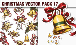 Christmas Vector Pack 17 Holidays [tag]