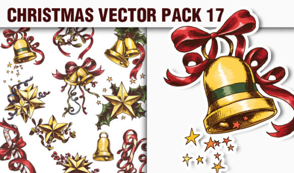 Christmas Vector Pack 17 products designious vector christmas 17 small