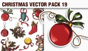 Christmas Vector Pack 19 Holidays [tag]