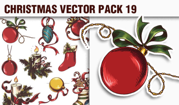 Christmas Vector Pack 19 products designious vector christmas 19 small